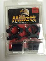Millett Scope Rings Combo 1 Med Remington 700 Series Matte Angle-loc Cp40702