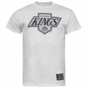 the latest b7a75 caf7f Details about Majestic NHL LA Kings Short Sleeve White Cotton Mens T-Shirt  N1AWBV LK0100 R8F