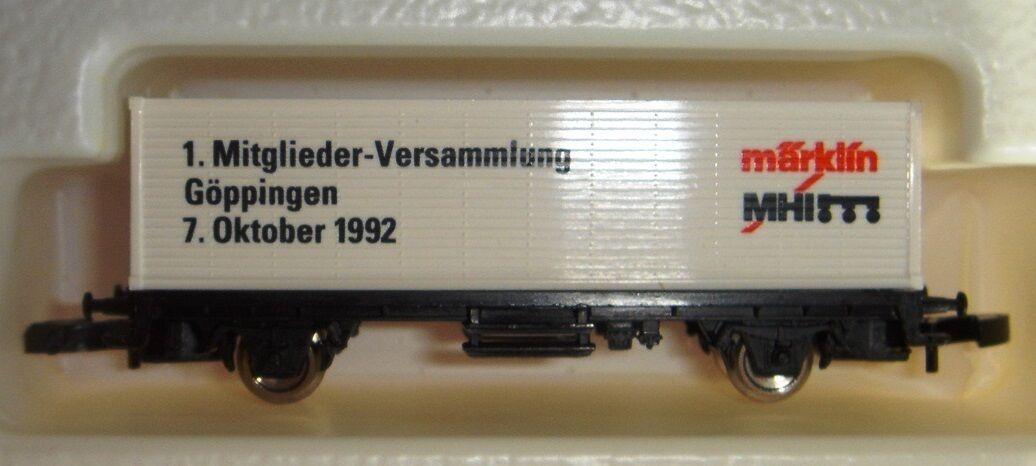 Z Carro speciale 1. membri-Assemblea Göppingen 7. ottobre 1992 MHI NUOVO