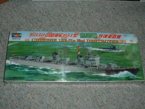 Trumpeter 04502 1//350 Chinese Kai Feng DESTROYER Electric Warship Assemble Model