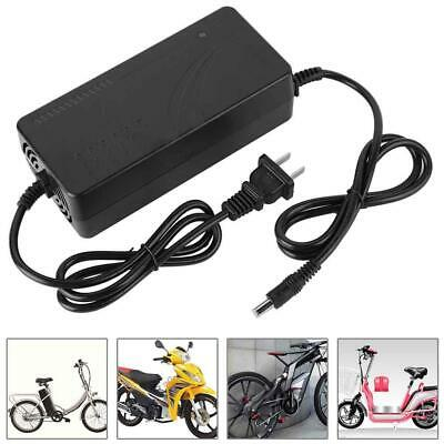 26//48V 2A Ebike Li-ion LiPo DC Head Lithium Battery Charger for Electric Bicycle