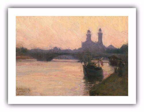 "/""The Seine/"" c.1902 Henry Ossawa Tanner — Giclee Fine Art Print"