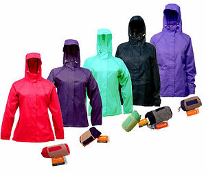 RRP £35 LADIES REGATTA LIGHTWEIGHT BREATHABLE WATERPROOF JACKET IN ...