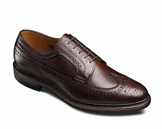 Allen Edmonds Men's Macneil 2.0 Wing Tip Dress Shoe Brown Size 11 D