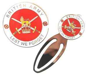 British-Army-Military-Crested-Commemorative-Collectors-Coin-And-Bookmark
