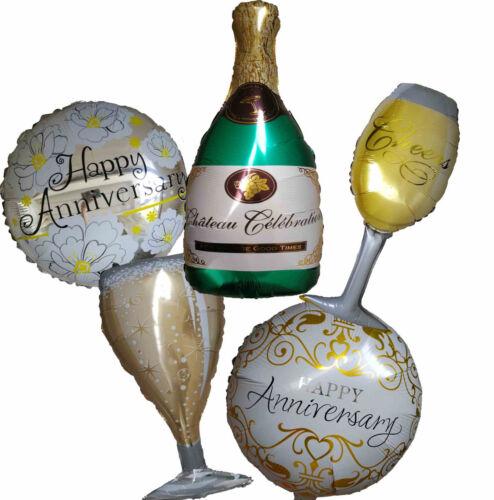 5th 10th 15th 20th 30th 40th 50th Anniversary Balloon Party Supplies Decoration