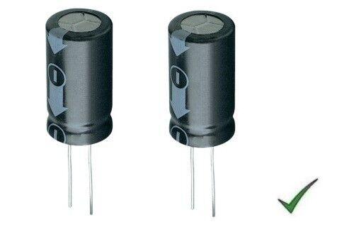 2pz Electrolytic Capacitor 2200uf 35v Vertical 105 ° 16x31mm