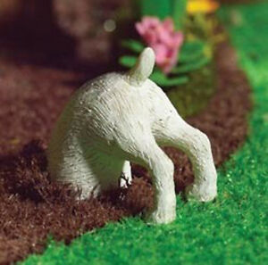CUTE! Dollhouse Miniature Digging Dog-Great for Miniature Fairy Gardens! #S5177