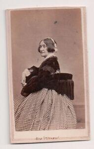 Vintage-CDV-Jane-Merchant-Fisher-Mrs-Vernon-British-Actress-Fredrick-039-s-Photo