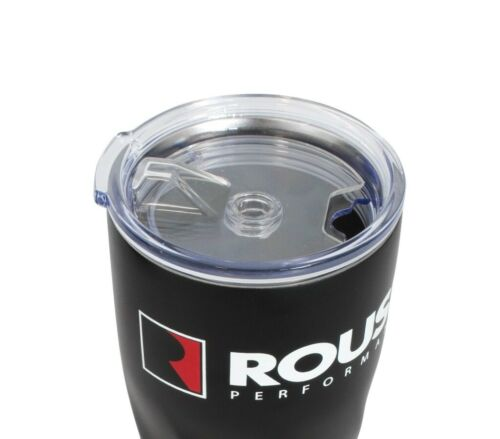 Roush Stainless Steel Insulated 20oz Coffee Travel Mug Tumbler Black