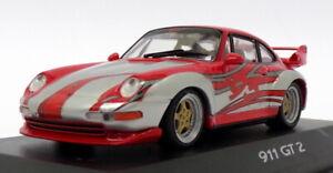 Minichamps-Escala-1-43-WAP-020-017-Porsche-911-GT2-Rojo-Plata