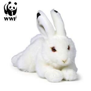 WWF Plüschtier Schneehase (23cm, liegend) lebensecht Kuscheltier Stofftier NEU
