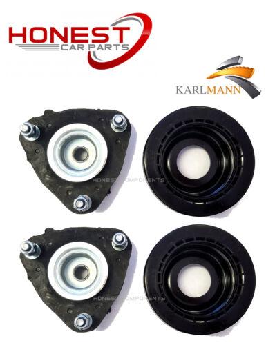 Pour Jaguar X Type 2001-2009 FRONT TOP STRUT Supports /& Paliers X2 Boulons