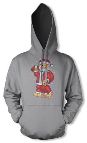 BNWT LEGO SANTA CLAUS FATHER CHRISTMAS XMAS GIFT HOODIE HOODY KIDS 3 12 YEARS