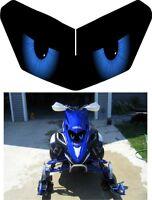 Yamaha Sled Snowmobile Fx Nytro Phazer Rs Rx Max Headlight Decal Sticker 1