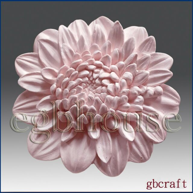 3D silicone Soap/polymer/clay/cold porcelain/candle mold- Chrysanthemum 14w01