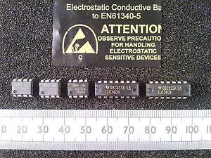 Details about Qty 5 : TL071, TL072, TL074, TL081, TL082 Or TL084 DIP FET  Input Op-Amp IC