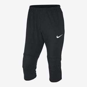 Nike Squad Strike 3 4 Tech Pantalon Entraînement Noir Blanc  68b2485128f99
