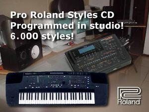 Appris 6000 Stili E500 E300 Kr-570 Kr-770 Kr-1070 Roland Styles Style Collection