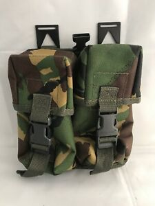 WEB-TEX-Double-Utility-Pouch-Magazine-Ammo-Pocket-PLCE-Belt-Carrier-DPM-Camo