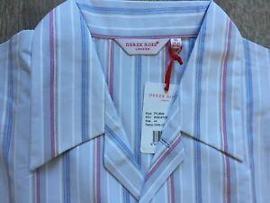 Derek Rose Men/'s Cotton Pyjamas Bottoms  Ranga  New XL