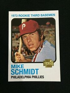 Mike Schmidt 1973 Topps Rookie Card