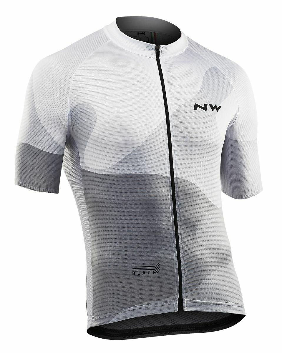 Northwave Blade 4 Fahrrad Trikot kurz white grey 2019