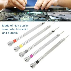 5x-Screwdriver-Set-Eyeglasses-Watch-Jewelry-Watchmaker-Precision-Repair-Tool-Kit
