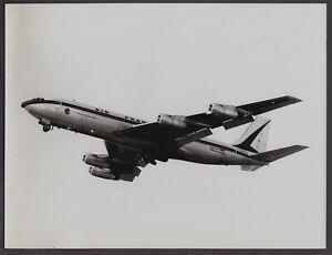 AIR FRANCE BOEING 707 F-BHSC LARGE ORIGINAL VINTAGE AIRLINE PHOTO AF