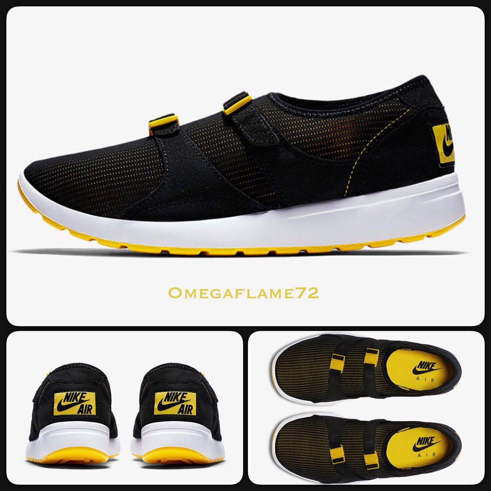 """Nike Air Sock Racer 875837-001, OG """"Black & Yellow"""" 875837-001, Racer US 11 bb0cc4"""