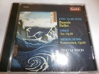 John Alan Rose-buson's Ballet D'indy: Trio Op. 29&113 Mendelssohn Konzert Cd