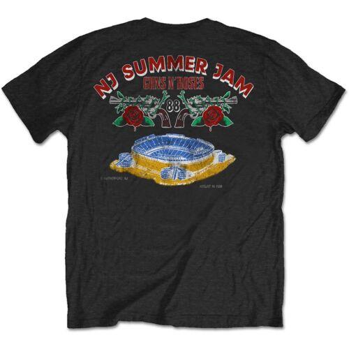 NEW /& OFFICIAL! Guns N/' Roses /'NJ Summer Jam 1988/' T-Shirt