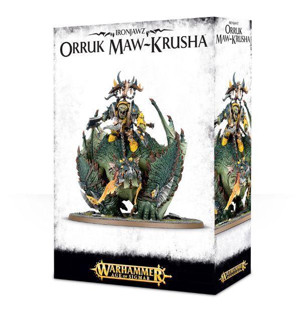 Ironjawz orruk orruk orruk maw krusha-games workshop-age of sigmar-megaboss-gordrakk e3481d