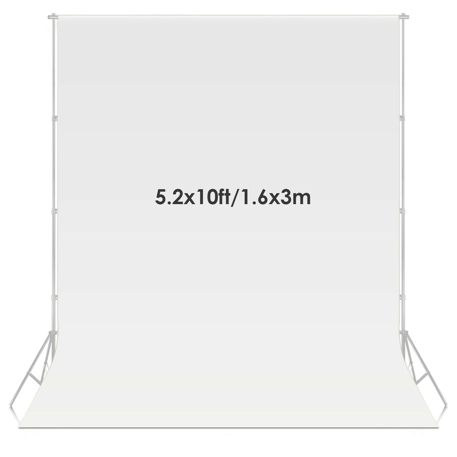 Neewer White Fabric Photography Studio Backdrop Background Screen Material 4