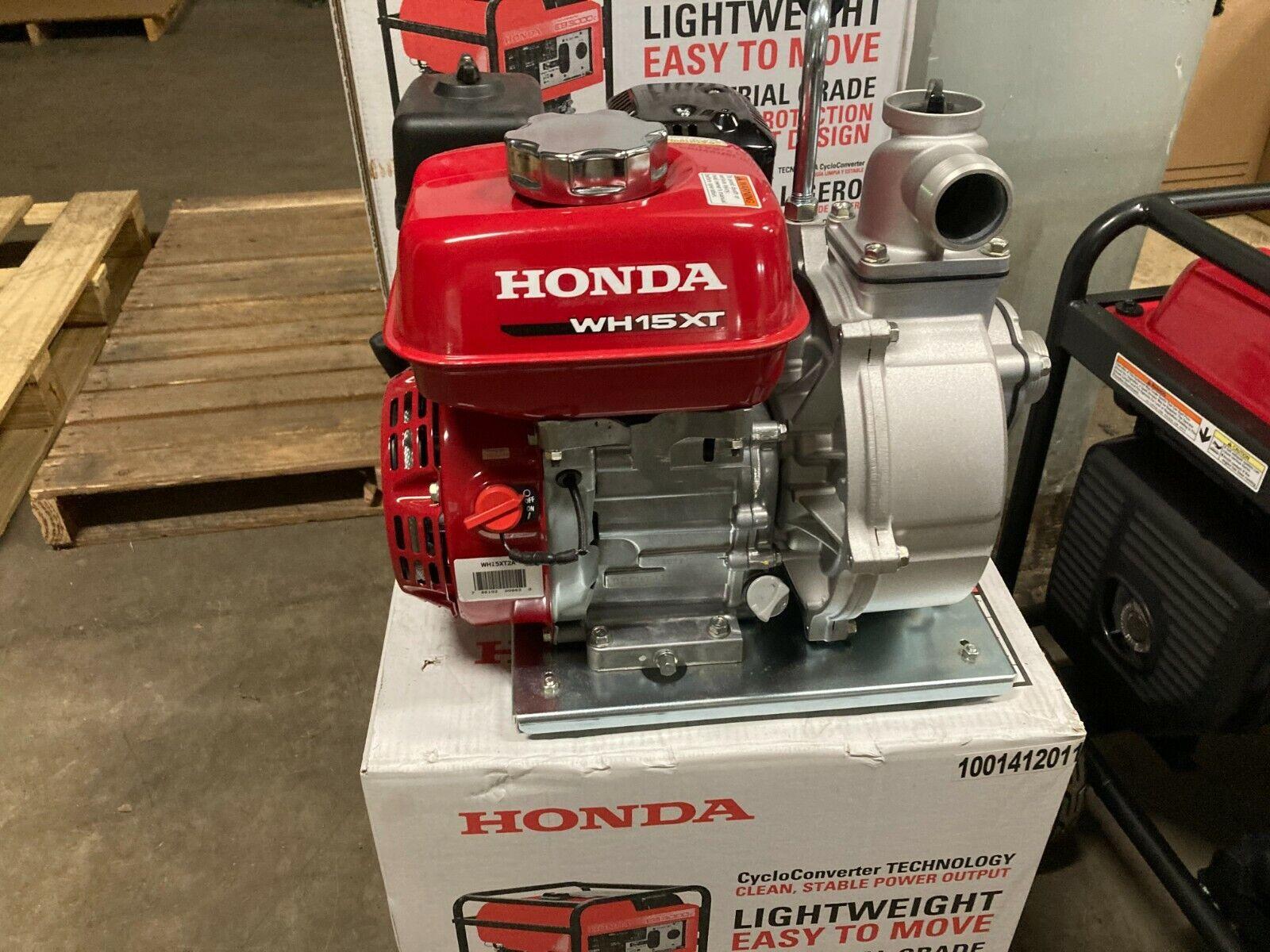 New Honda WH15X Pressure Pump