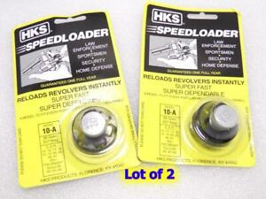 65 80 HKS 10-A Revolver Speedloader for S/&W 10,12,13,14,15,19,64,66,67//Taurus 606 82 66