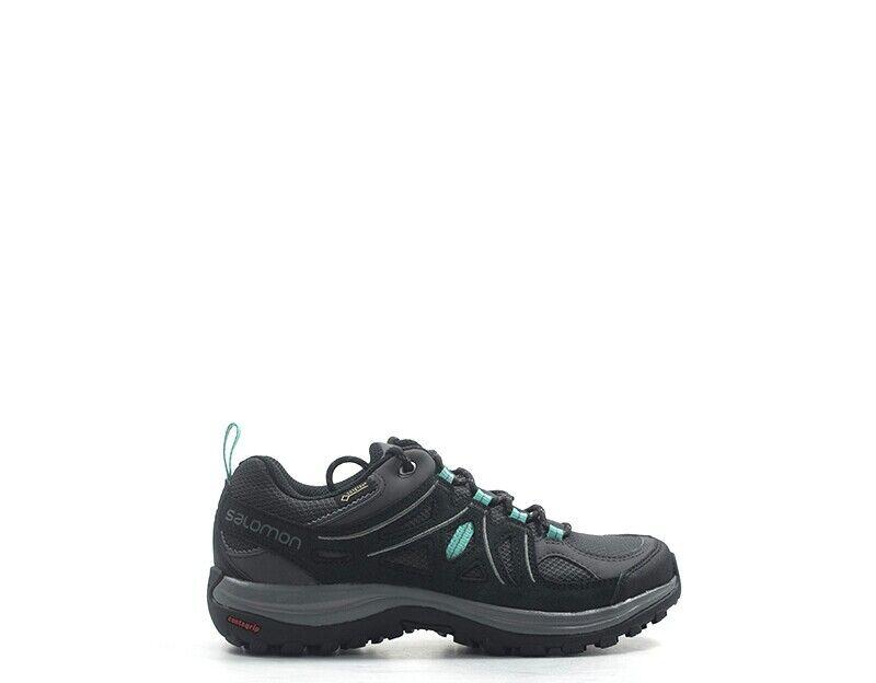 Schuhe SALOMON Frau grau Stoff,Wildleder  L40471800