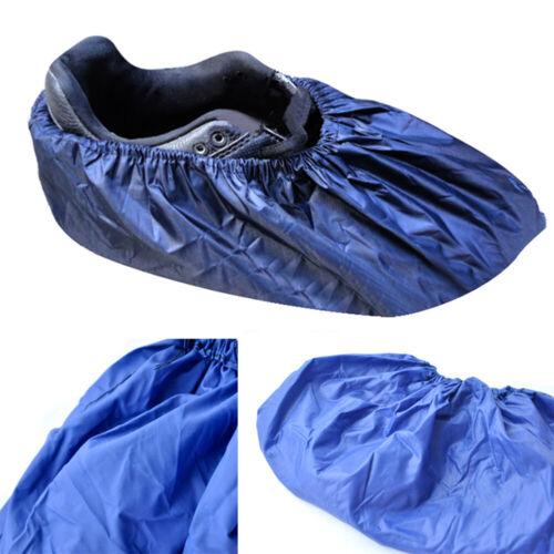 1 Pair Reusable Unisex Rain  Shoes Cover Waterproof Overshoes Anti-slip Covers
