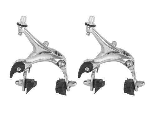 Silver 38-50mm Drop Front /& Rear Road Bike Brake Caliper Set