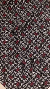 Image is loading Salvatore-Ferragamo-100-Silk-Blue-PAISLEY-Print-Necktie- 4240a82864