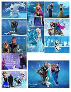 FROZEN ( Disney Movie) PHOTO FRIDGE MAGNETS
