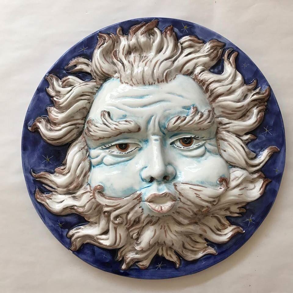 Bassano Céramique la fin de vie, 36 cm décoration-d' Italie NEUF