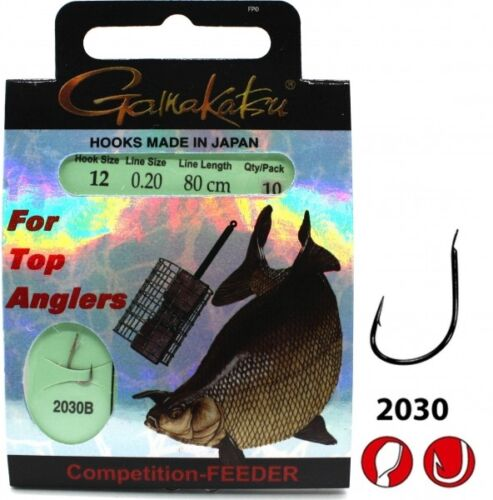 Gamakatsu Competition Bream Feeder Strong 2030 Gr.12