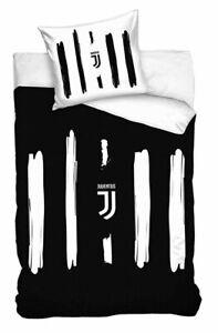 Lenzuola Copripiumino.Juventus Pennellato Set 2pezzi Letto Singolo Lenzuola