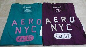 Us da 39 Teal shirt Lotto Purple Aeropostale 2 Large pezzi Dark donna Nwt New T wqAXpTx