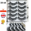 5Pairs-3D-Natural-False-Eyelashes-Long-Thick-Mixed-Fake-Eye-Lashes-Makeup-Mink thumbnail 12