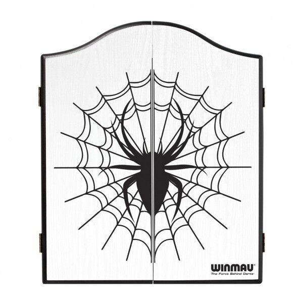 armoire pour cible de fléchettes pointe blanc acier - Winmau blanc pointe araignée. 458afe