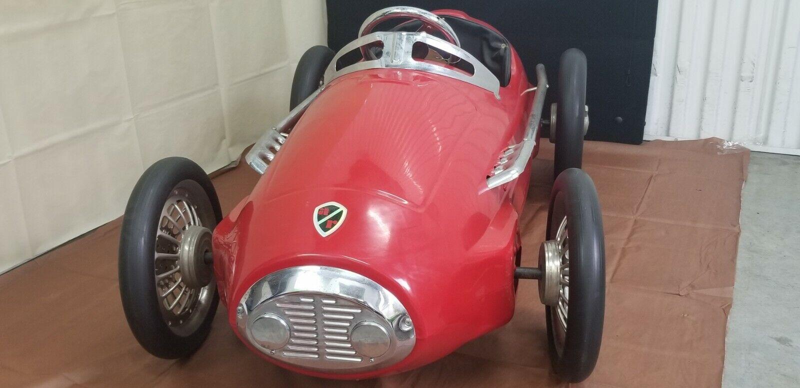 Pedal Car Rare Giordani Racer 1952 Ferrari Formula 2 Ar 5004 American Retro Blk For Sale Online Ebay