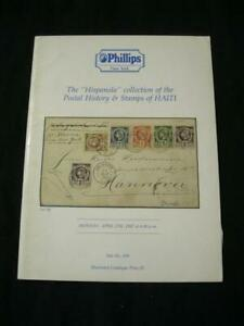 """Phillips Auction Catalogue 1987 Haïti """"hispanola"""" Collection-afficher Le Titre D'origine"""
