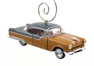 1955 Pontiac Starchief Brown & Gray Christmas Ornament